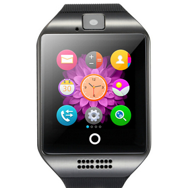 Q18 Smartwatch BT Fitness Tracker with Camera Support Notify/ Heart Rate Monitor Sports Smart watch for Samsung/ Iphone/ Android Phones