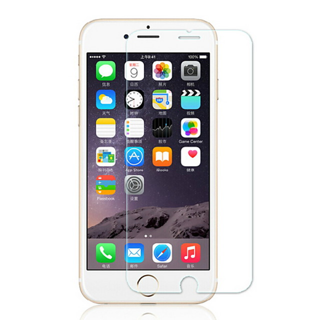 AppleScreen ProtectoriPhone 6s Plus Explosion Proof Front Screen Protector 1 pc Tempered Glass / iPhone 6s Plus / 6 Plus