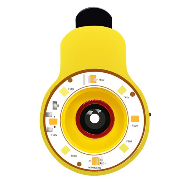 rk09 9 en 1 multifuncional ayudante belleza autofoto especializada con la lente de la luz del flash