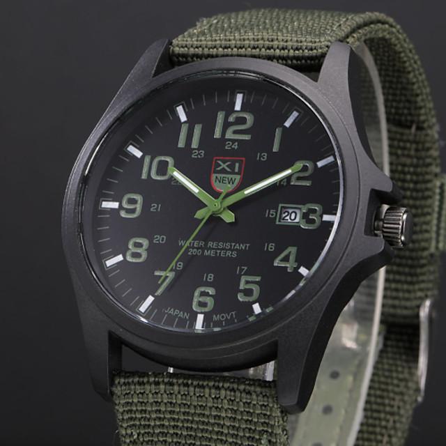 Men's Military Watch Wrist Watch Analog Quartz Aristo / One Year / Stainless Steel