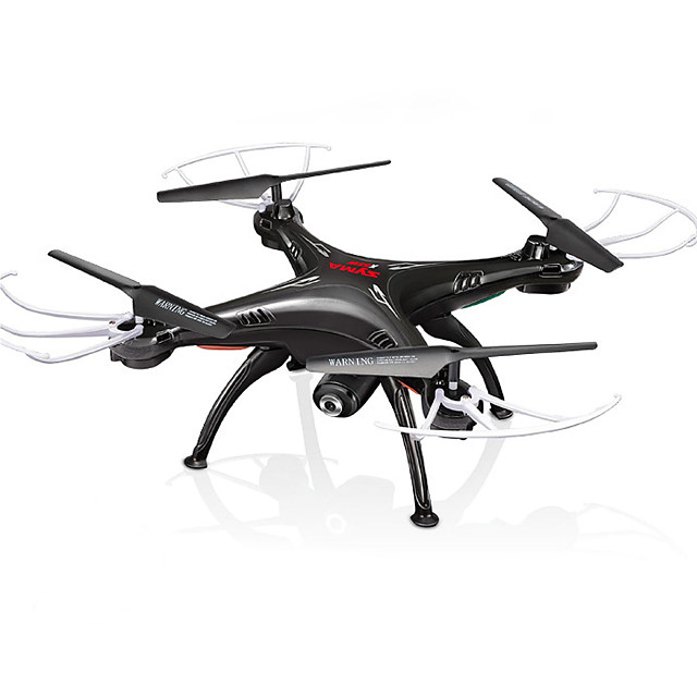 RC Drone SYMA X5SW RTF 4CH 6 Axis 2.4G With HD Camera 0.3MP 480P RC Quadcopter FPV / One Key To Auto-Return / Auto-Takeoff RC Quadcopter / Remote Controller / Transmmitter / Camera / Headless Mode