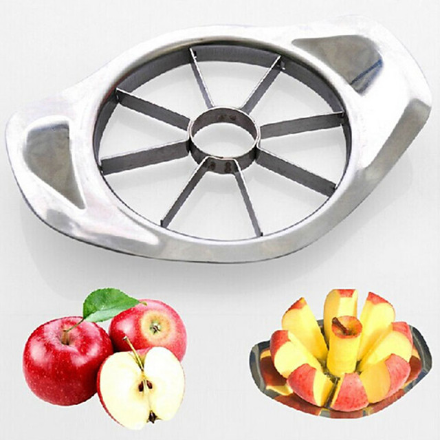 Stainless Steel Apple Divider Fruit Easy Cutter Slicer Kitchen Gadgets