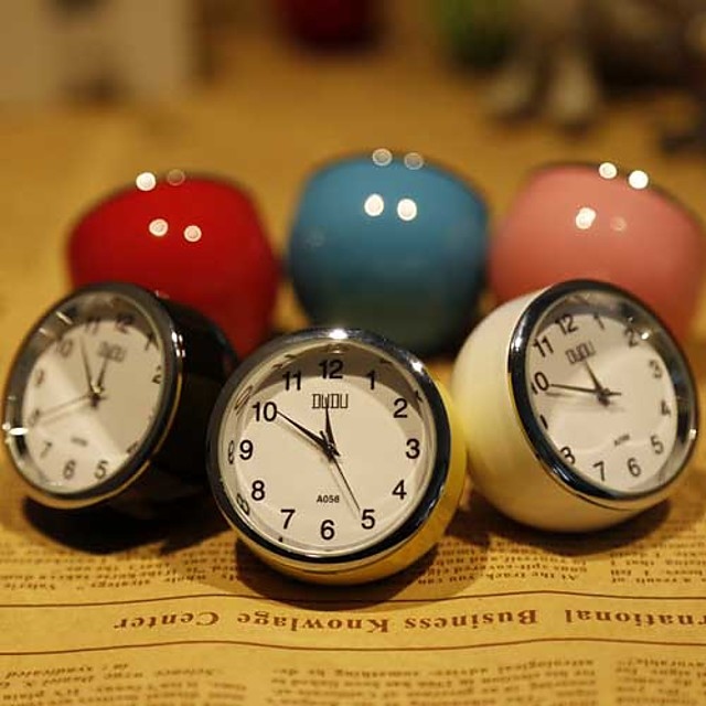 Mini Desktop Clock(Random color)