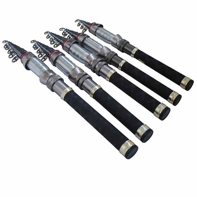 Fishing Rod Telescopic Rod Carbon Telescopic Medium Heavy (MH) Sea Fishing Fly Fishing Bait Casting / Ice Fishing / Spinning / Freshwater Fishing / General Fishing / Trolling & Boat Fishing