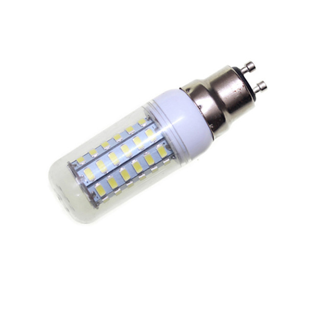 SENCART 4 W หลอด LED รูปข้าวโพด 3000-3500/6000-6500 lm E14 G9 GU10 56 ลูกปัด LED SMD 5730 ตกแต่ง ขาวนวล ขาวเย็น 220-240 V 110-130 V / RoHs