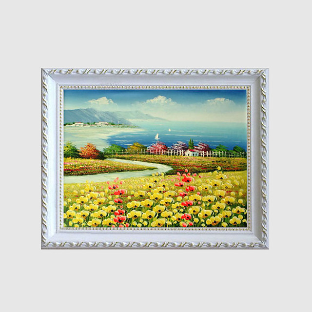 formale landschaft vintage blumen idee