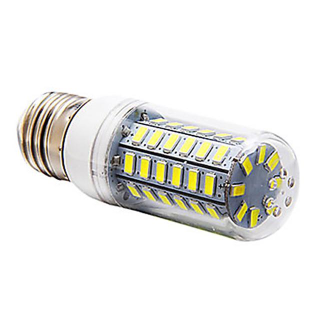 5 W Bombillas LED de Mazorca 300-350 lm E14 G9 E26 / E27 T 56 Cuentas LED SMD 5730 Blanco Cálido Blanco Fresco 220-240 V