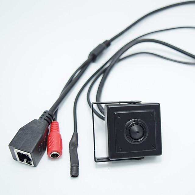 HD 1.0MP ONVIF H.264 P2P Mobile Phone Surveillance CCTV Mini IP Camera 2.8mm Pinhole Lens Hideen Camera