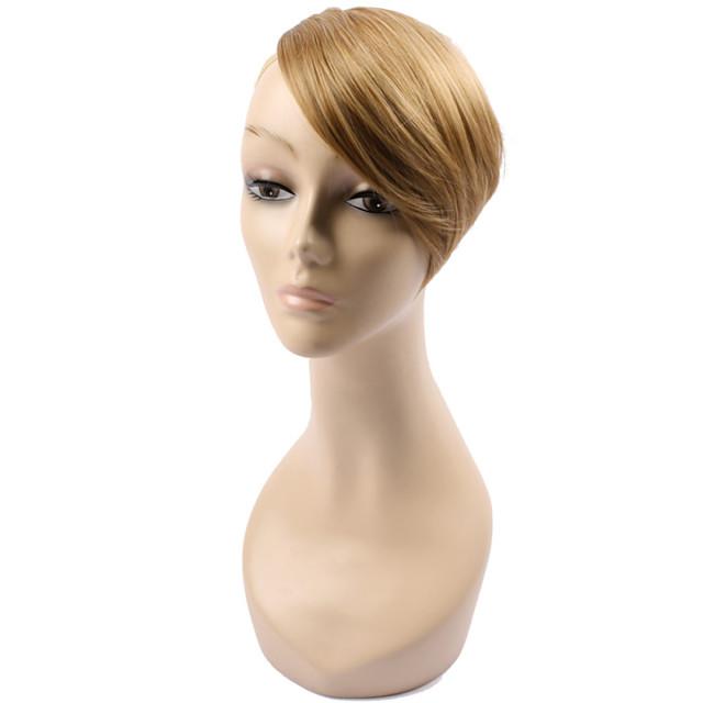 Bangs Straight Synthetic Hair Black / Brown / Short