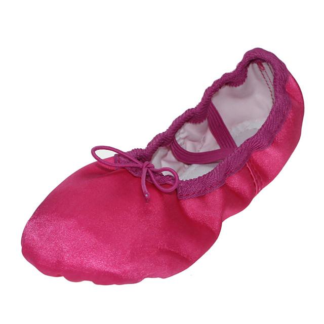 Ballet Shoes Flat Flat Heel Yellow Fuchsia Blue Gore Kid's