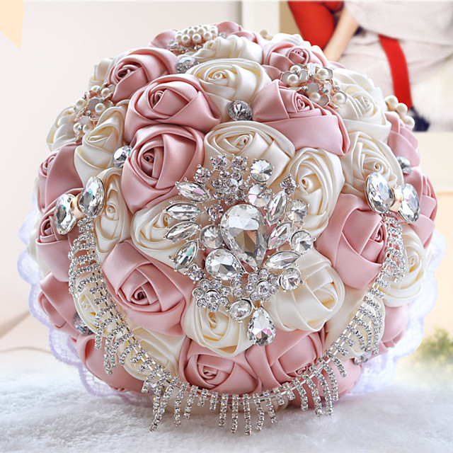 Wedding Flowers Bouquets Wedding / Party / Evening Bead / Crystal / Rhinestone 11.02