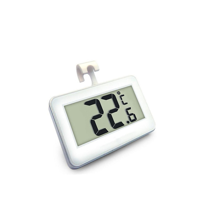 Household High-Precision Waterproof Electronic Digital Display Refrigerator Thermometer with Frost Alarm Function