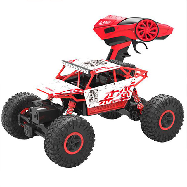 RC Car HB-P1801 4WD 2.4GH Buggy (Off-road) / Rock Climbing Car / Off Road Car 1:18 Brushless Electric Remote Control / RC / Rechargeable / Electric
