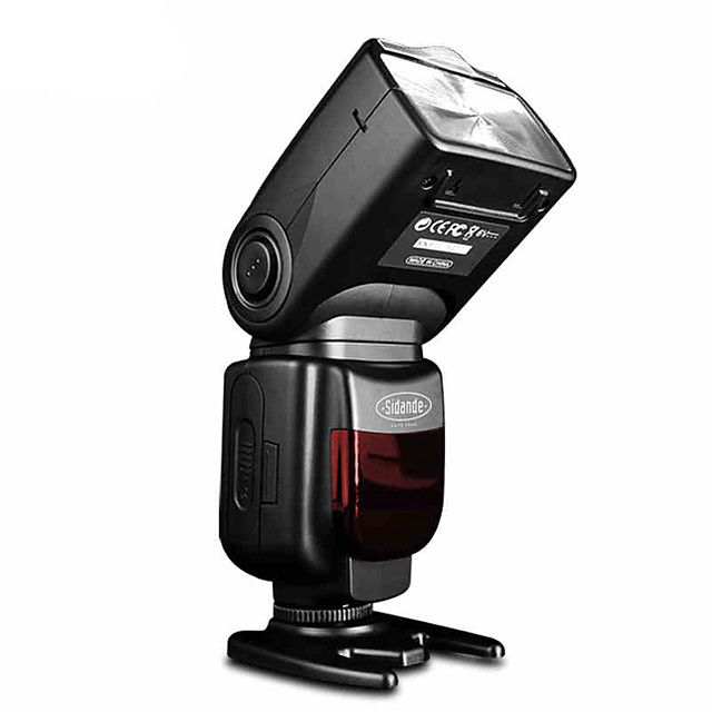 Sidande® DF-550 Speedlight SLR Camera External Top Flash Lamp Speedlight for Canon / Nikon / Pentax / Fujifilm / Samsung
