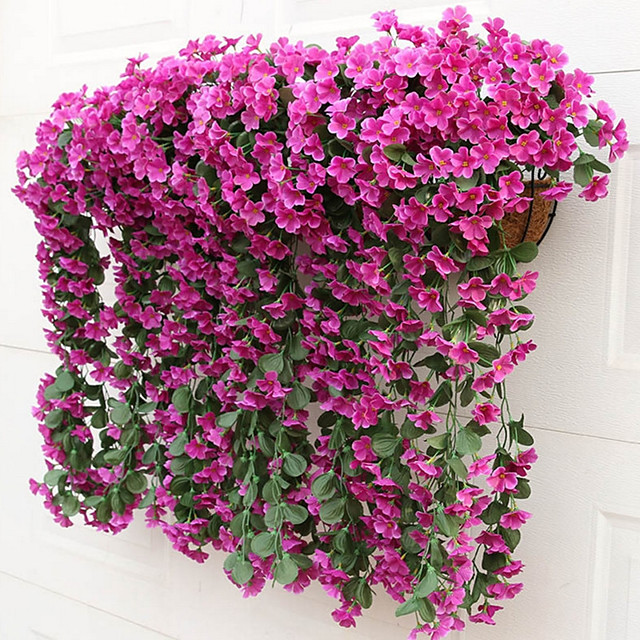 Silk Modern Style Wall Decor Flower Length 85cm Width 36cm 2branch Artificial Flower Plants for Party Home Garden Wedding Decoration