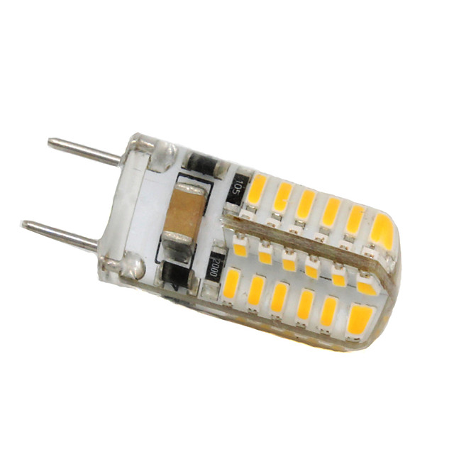 3 W LED Bi-pin Lights 250-300 lm G8 T 48 LED Beads SMD 3014 Decorative Warm White Cold White 110-130 V / 1 pc