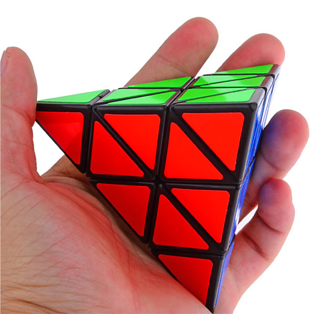 Speed Cube Set Magic Cube IQ Cube Shengshou Pyramid Alien Stress Reliever Educational Toy Puzzle Cube Professional Level Speed Professional Birthday Classic & Timeless Kid's Adults' Children's Toy