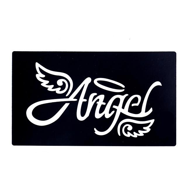 9pcs Henna Stencil Tattoo Airbrush Painting Template Angel Wing Design Small Henna Body Art Stencil 5193469 2020 2 59