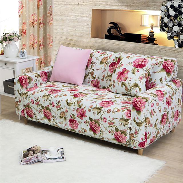 Cobertura de Sofa Floral Estampado 65% Raiom / 35% Poliéster Capas de Sofa