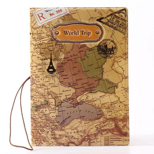 Etui à Passeport & Pièce d'Identité Protège Passeport Etanche Portable Résistant à la poussière Rangement de Voyage pour Etanche Portable