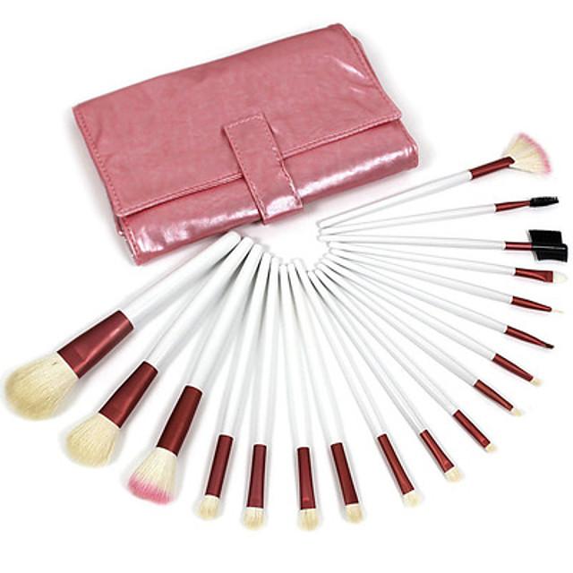 Professional Makeup Brushes Makeup Brush Set 18 Portable Professional Goat Hair Wood for Makeup Brush Set