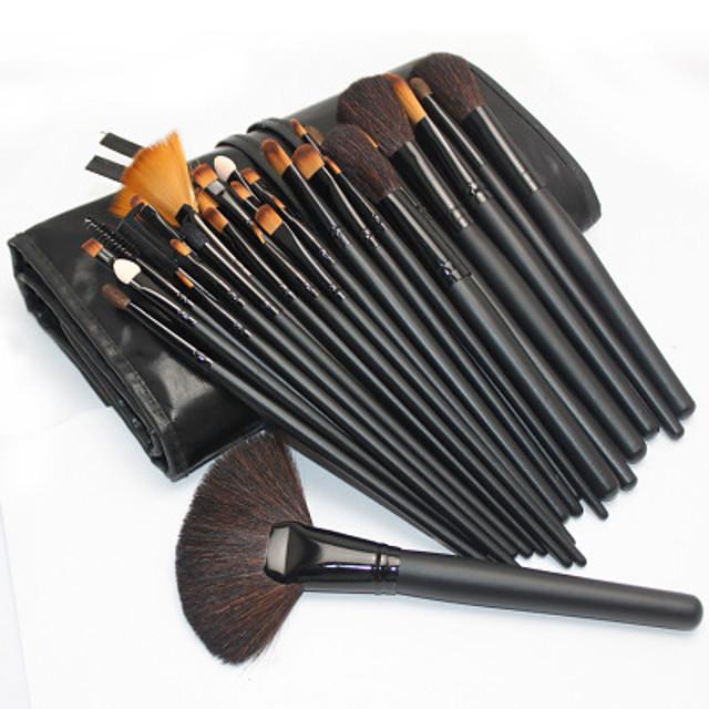Professional Makeup Brushes Makeup Brush Set 32pcs Portable Professional Wood for