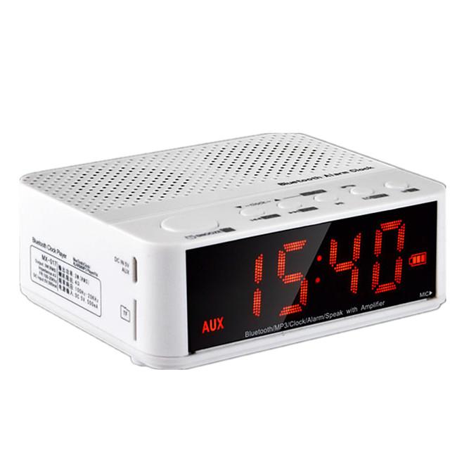 Wireless Bluetooth Speaker Home Bed Head Mini - Audio Clock Alarm Portable Car Hands - Free Calls Card Radio
