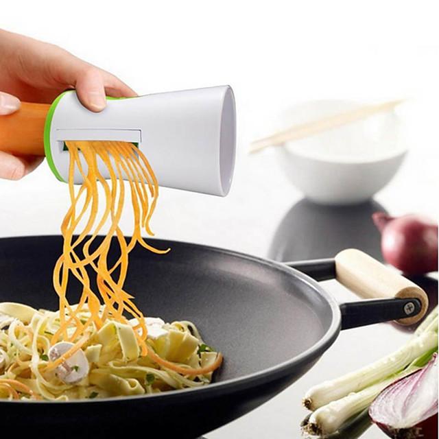 野菜スパイラル機フルーツおろし金スパイラルスライサーカッターニンジンキュウリキッチン