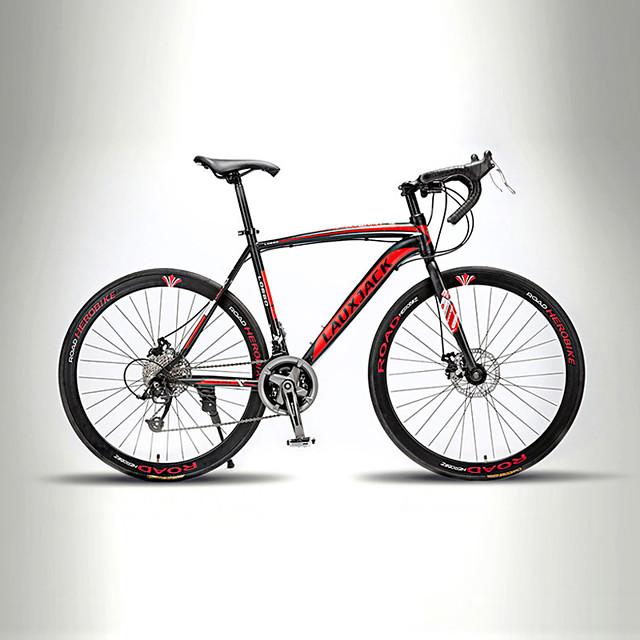 Road Bike Cycling 21 Speed 26 Inch / 700CC TX30 BB8 Double Disc Brake Non-Damping Monocoque / Hard-tail Frame Ordinary / Standard / Aluminium Alloy Carbon / Aluminium Alloy