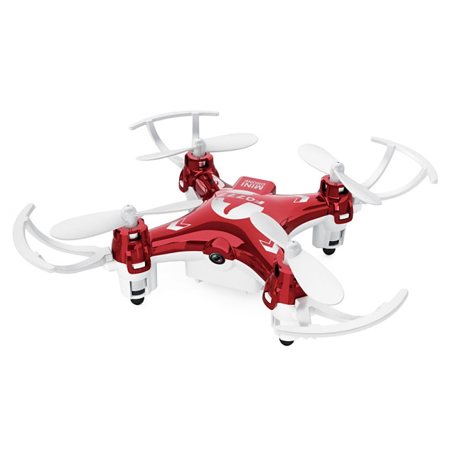 RC Drone FQ777 951W 4CH 6 Axis 2.4G With HD Camera 0.3MP 640P*480P RC Quadcopter LED Lights / Headless Mode / 360°Rolling Remote Controller / Transmmitter / Camera / USB Cable / Upside Down Flight