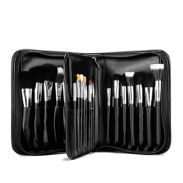 Professional Makeup Brushes Makeup Brush Set 29 pcs Professional Full Coverage Mink Hair / Goat Hair / Pony Wood Makeup Brushes for Makeup Brush Set / Synthetic Hair / Horse / Goat Hair Brush