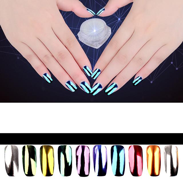 1 Glitter Powder Glitters Classic Daily for Finger Nail Toe Nail