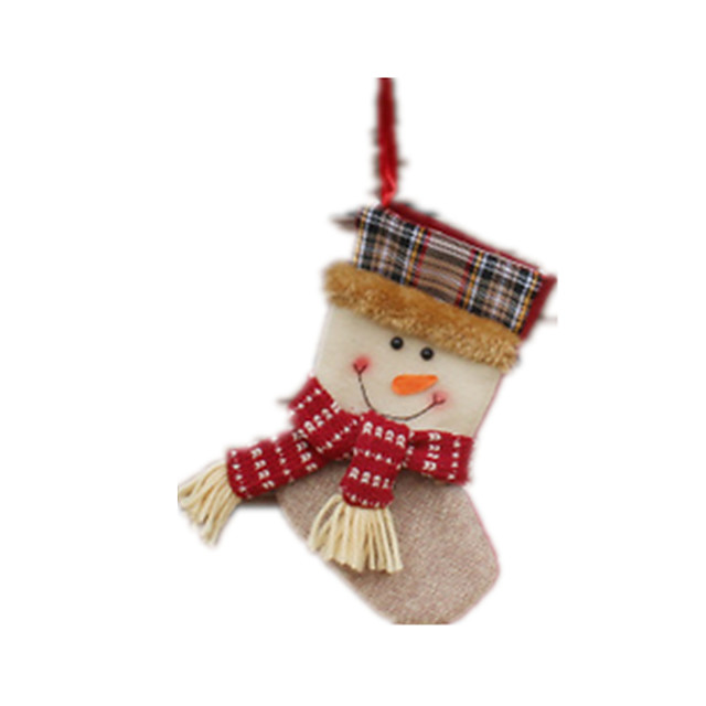 Christmas Decorations Christmas Party Supplies Christmas Toy Socks Santa Suits Elk Cloth Adults' Toy Gift