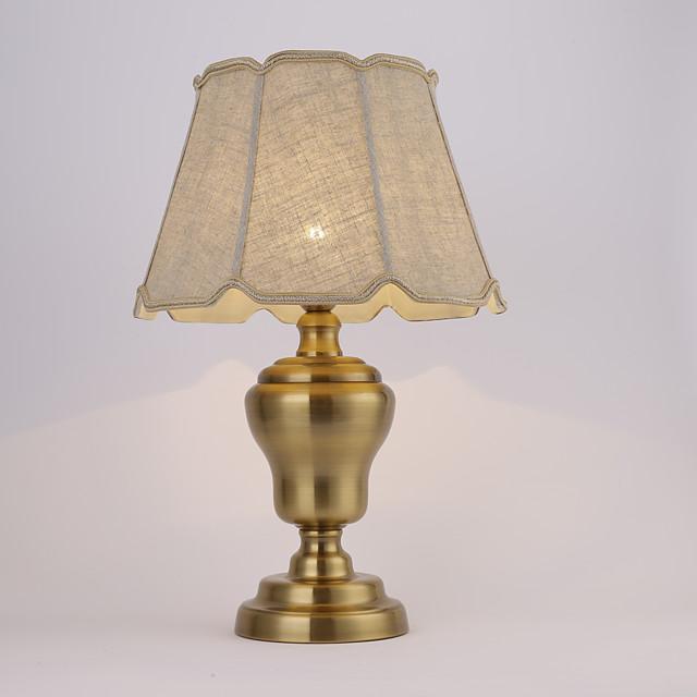Desk Lamp LED Traditional / Classic For Metal 110-120V / 220-240V