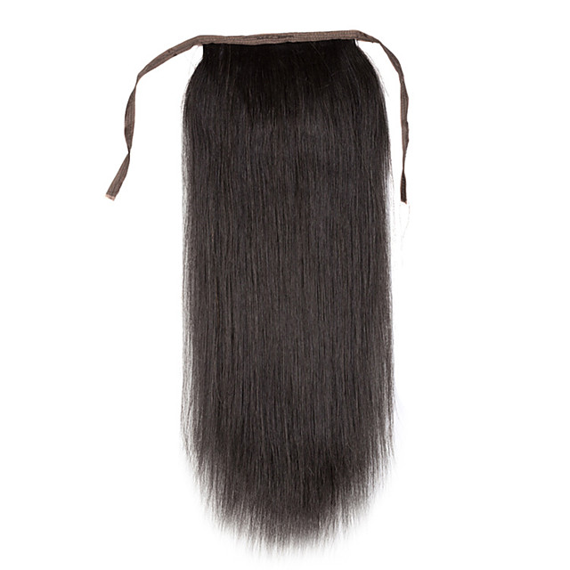 Clip In Human Hair Extensions Classic Ponytails Human Hair