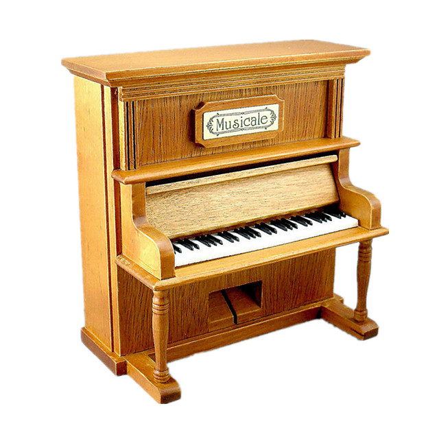 Music Box Wind-up Toy Wooden Music Box Antique Music Box Sweet Special Piano Creative Sound Novelty Simulation Unique Wood Women's Boys' Girls' Kid's Adults Graduation Gifts Toy Gift