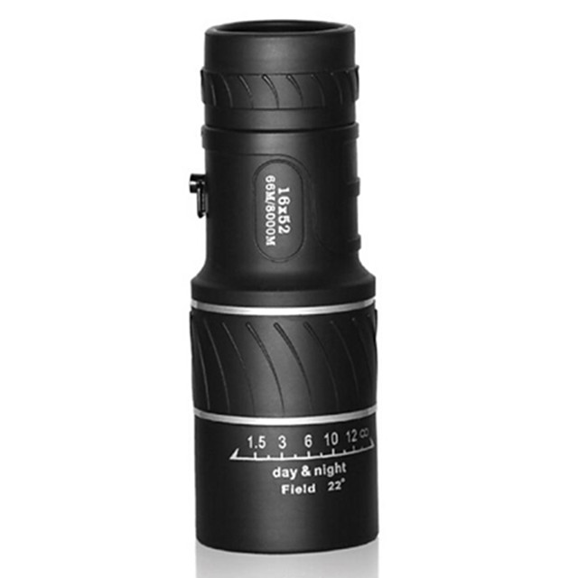 16 X 55 mm Monocular High Definition Carrying Case Night Vision Rubber