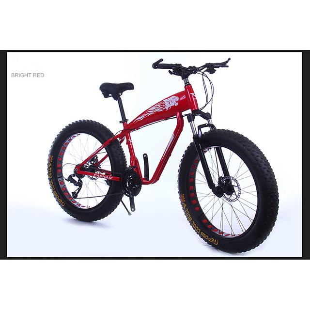 Mountain Bike Cycling 21 Speed 26 Inch / 700CC SAIGUAN EF-51 Double Disc Brake Suspension Fork Aluminium Alloy Aluminium