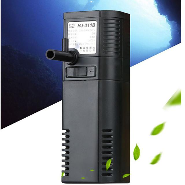 Aquarium Fish Tank Water Pump Vacuum Cleaner Energy Saving Metal 1 pc 220 V / # / #