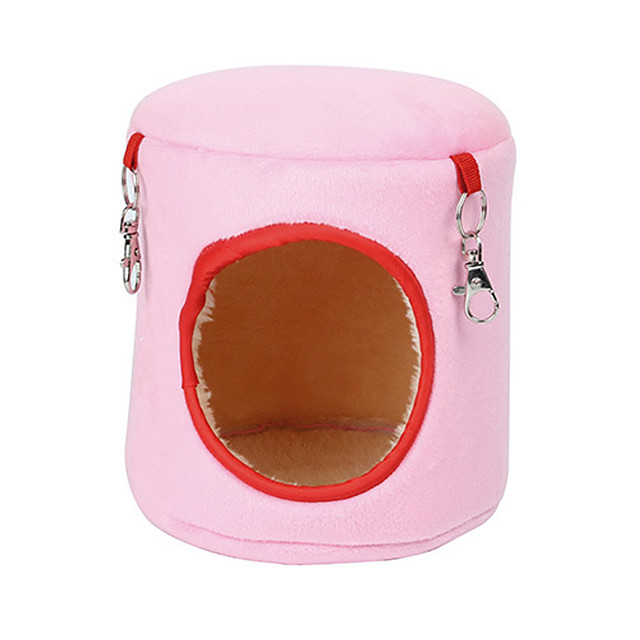 Rodents Hamster Beds Cotton Blue Pink