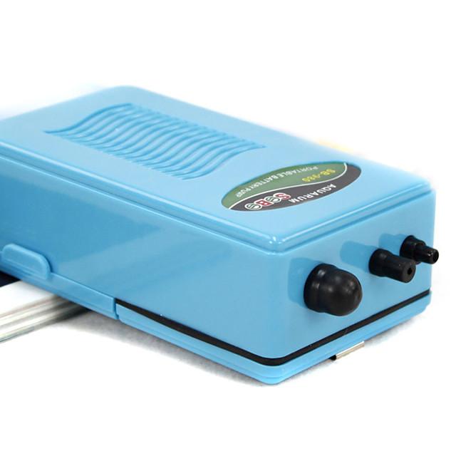 Aquarium Fish Tank Air Pump Vacuum Cleaner Noiseless Plastic 12 V