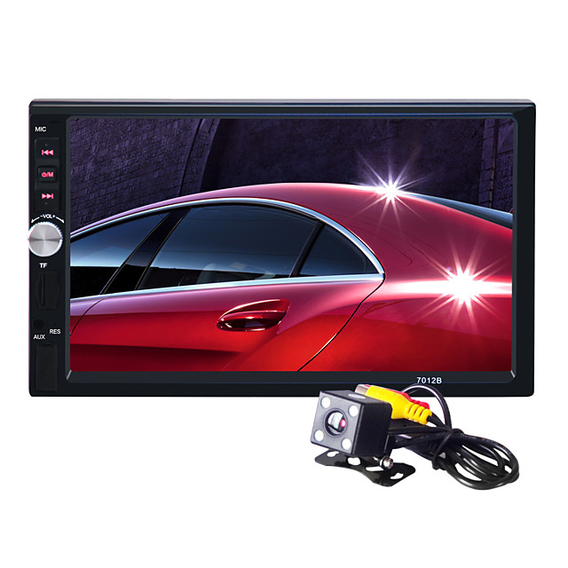 7012WG 7 inch 2 DIN Windows CE 6.0 In-Dash Car DVD Player for universal / Universal Support / Mp4 / TF Card