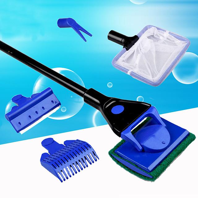 Aquarium Fish Cleaning Adjustable Plastic 1 set