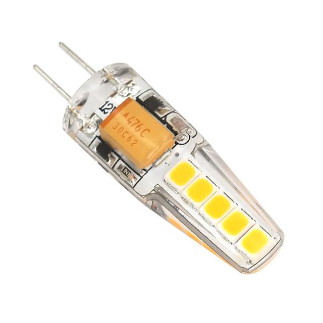 2 W נורות שני פינים לד 180-200 lm G4 T 10 LED חרוזים SMD 2835 Spottivalo לבן חם לבן קר 12 V / חלק 1