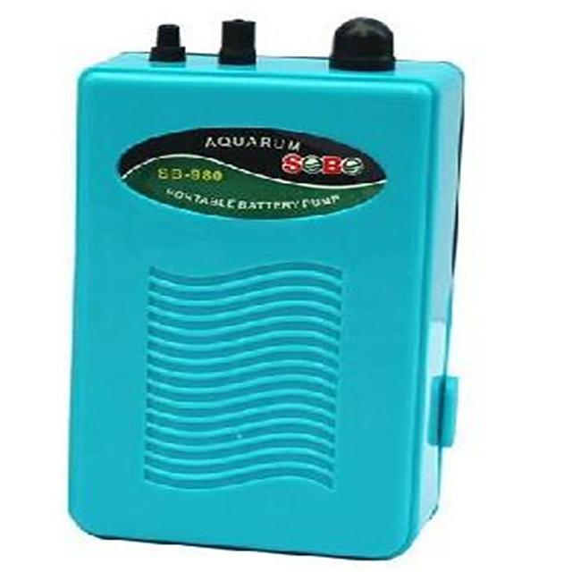 Ultra Silent Aquarium Air Pump Fish Tank Outlet Oxygen Pump Air Pump Dry Cell Battery Operated Aerator Compressor
