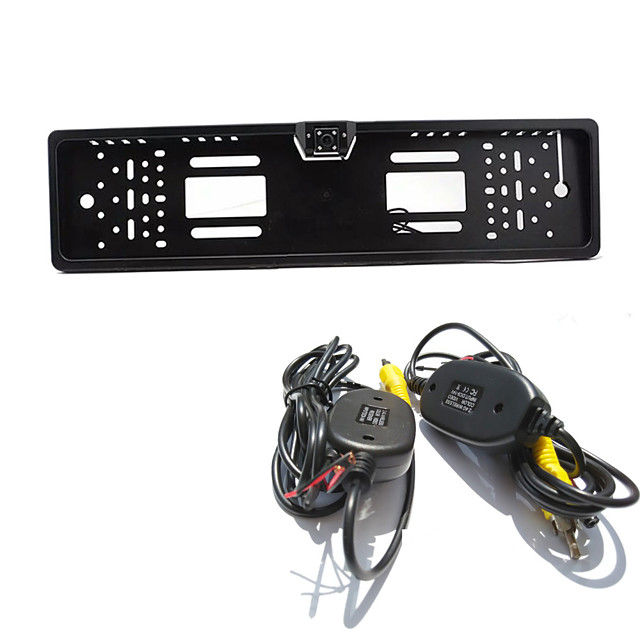 BYNCG Parking Assistance System Wireless Car Rear View Camera Auto 4LED CCD 1080P HD RearView Reverse Universal Backup Camera Waterproof Night Vision