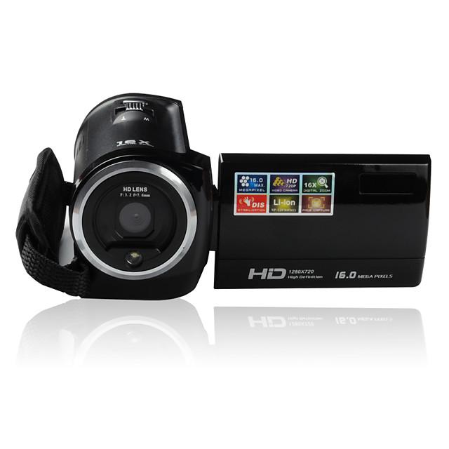 Ordro DV-107 Digital Video Camera  2.7 Inch LCD Screen 16MP Image Resolution