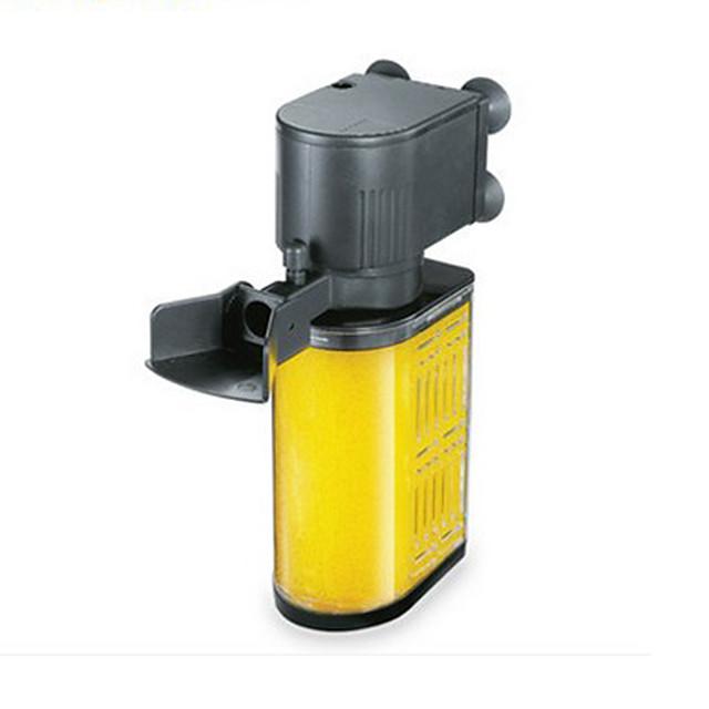 Aquarium Fish Tank Filter Vacuum Cleaner Energy Saving Noiseless Plastic 1 pc 220 V