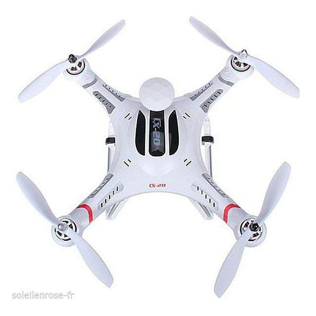 RC Drone Cheerson CX-20 4-kanaals 6 AS 2.4G RC quadcopter Terugkeer Via 1 Toets / Auto-Takeoff / Failsafe RC Quadcopter / Afstandsbediening / 1 Batterij Voor Drone / Zweven / Zweven