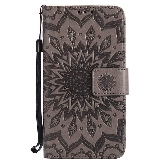 Case For Motorola Moto Z / Moto Z Force / Moto G4 Play Wallet / Card Holder / with Stand Full Body Cases Mandala Hard PU Leather